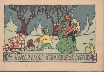 Christmas Card I found in an old photo album.